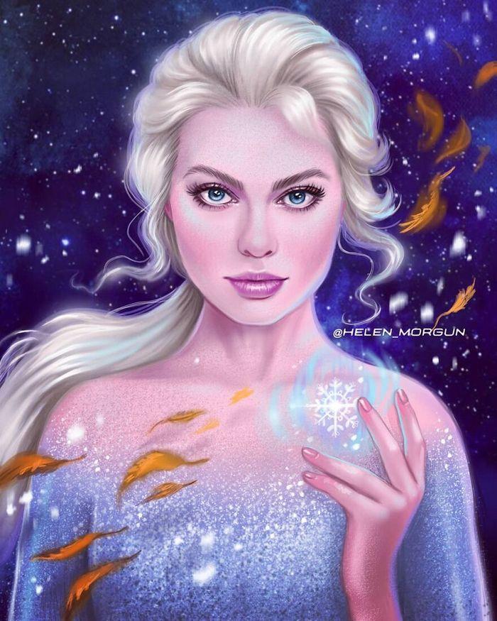 Artista russo mostra quais celebridades que deveria interpretar os personagens de animação 20
