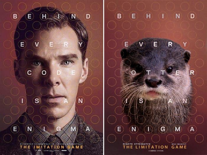 Rumores confirmados: Benedict Cumberbatch é realmente uma lontra 2