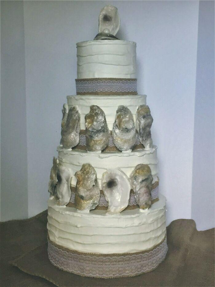 30 vezes as pessoas questionam se esses bolos de casamento eram a escolha certa para o grande dia 5