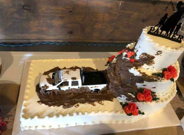 30 vezes as pessoas questionam se esses bolos de casamento eram a escolha certa para o grande dia 6