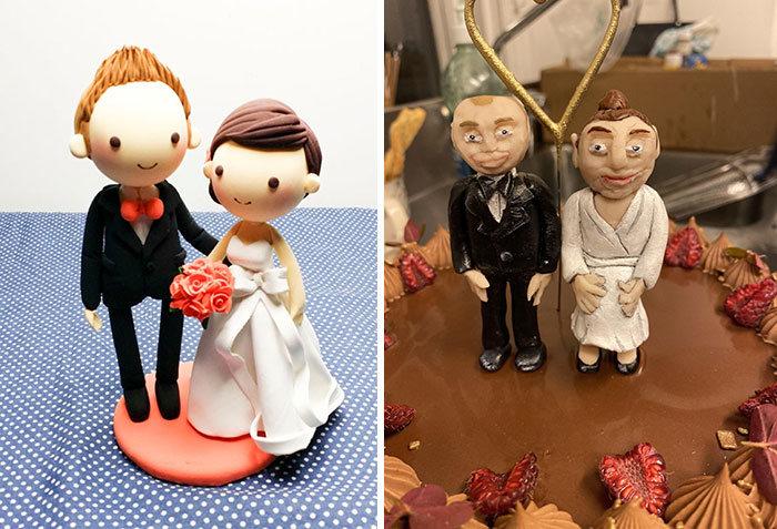 30 vezes as pessoas questionam se esses bolos de casamento eram a escolha certa para o grande dia 10