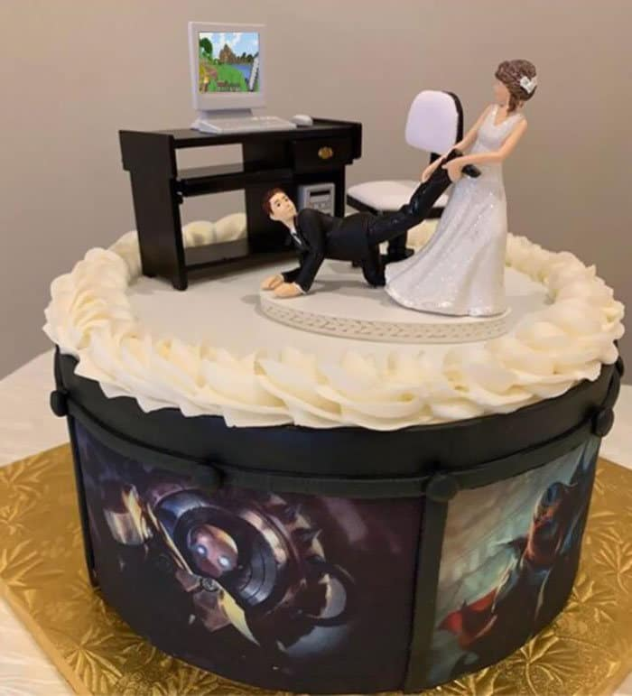 30 vezes as pessoas questionam se esses bolos de casamento eram a escolha certa para o grande dia 12