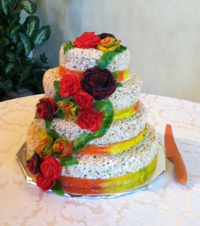 30 vezes as pessoas questionam se esses bolos de casamento eram a escolha certa para o grande dia 15