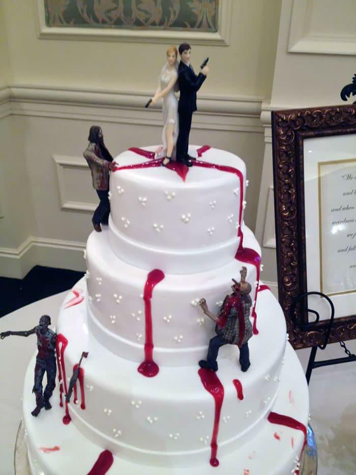 30 vezes as pessoas questionam se esses bolos de casamento eram a escolha certa para o grande dia 16