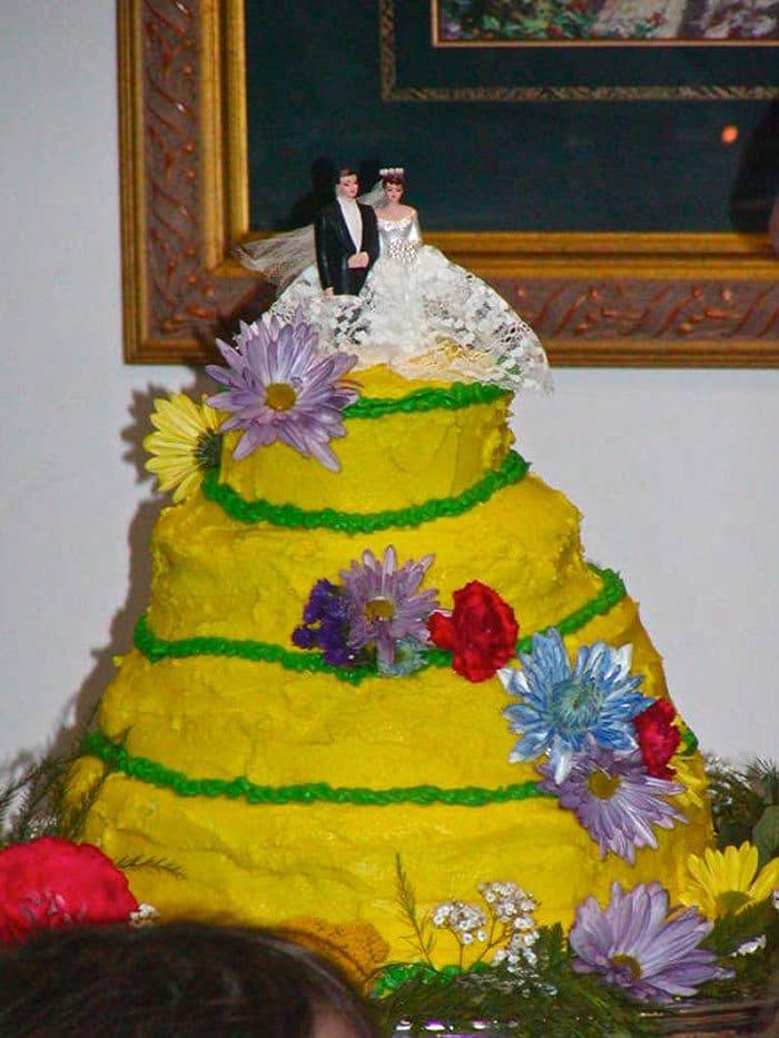 30 vezes as pessoas questionam se esses bolos de casamento eram a escolha certa para o grande dia 19