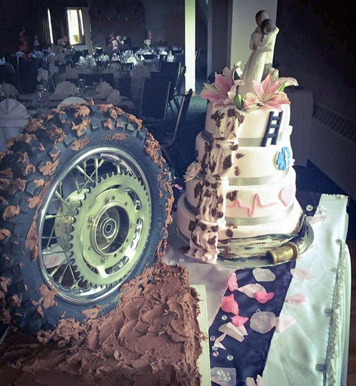 30 vezes as pessoas questionam se esses bolos de casamento eram a escolha certa para o grande dia 20