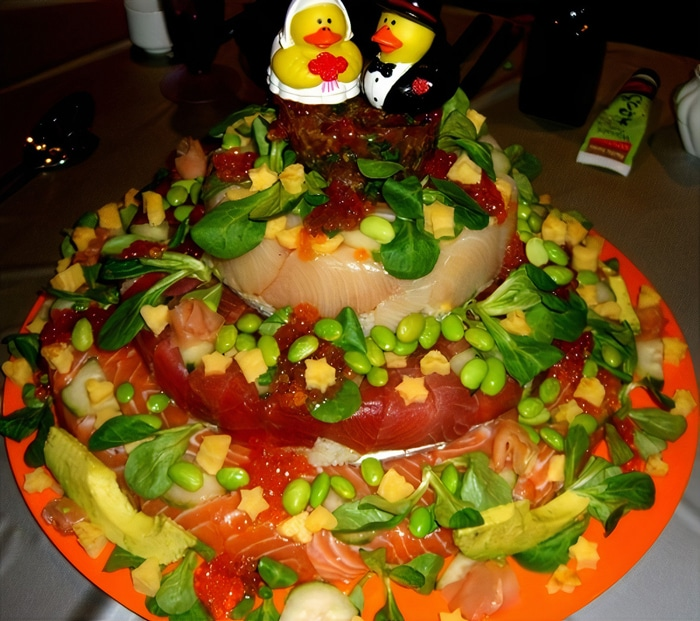30 vezes as pessoas questionam se esses bolos de casamento eram a escolha certa para o grande dia 24