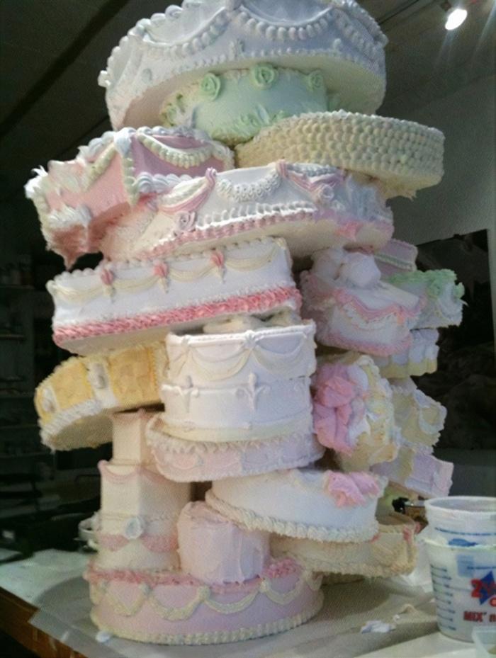 30 vezes as pessoas questionam se esses bolos de casamento eram a escolha certa para o grande dia 25