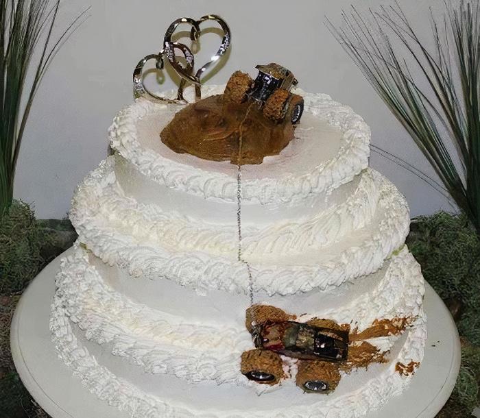 30 vezes as pessoas questionam se esses bolos de casamento eram a escolha certa para o grande dia 26