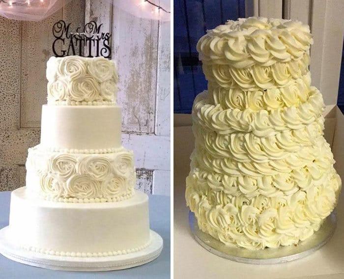 30 vezes as pessoas questionam se esses bolos de casamento eram a escolha certa para o grande dia 27