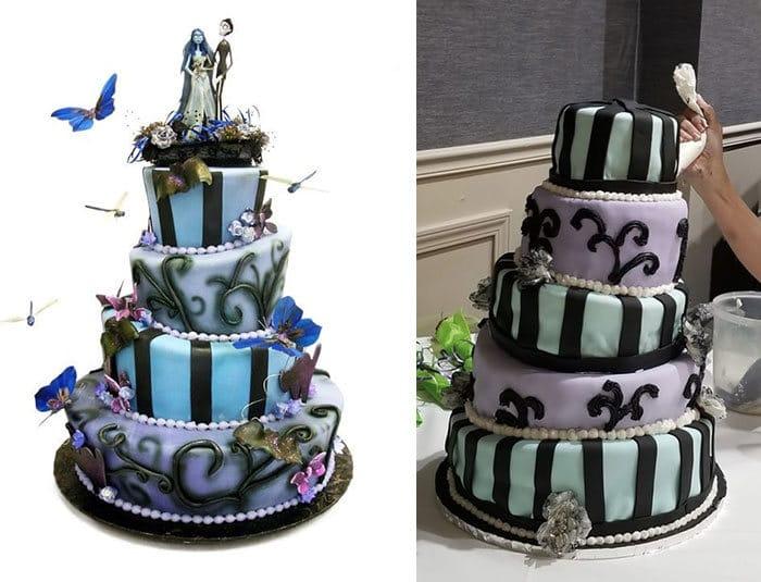 30 vezes as pessoas questionam se esses bolos de casamento eram a escolha certa para o grande dia 29