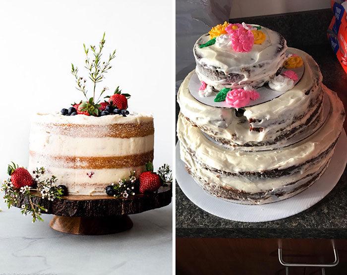 30 vezes as pessoas questionam se esses bolos de casamento eram a escolha certa para o grande dia 30