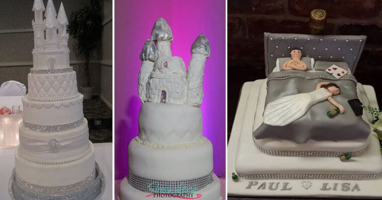 30 vezes as pessoas questionam se esses bolos de casamento eram a escolha certa para o grande dia 1