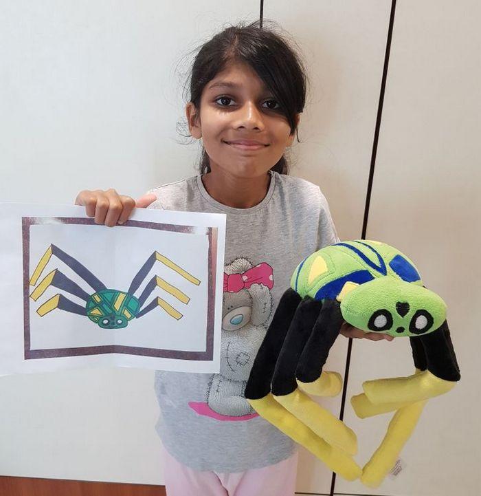 16 brinquedos criando a partir de desenhos feitos por crianças 2
