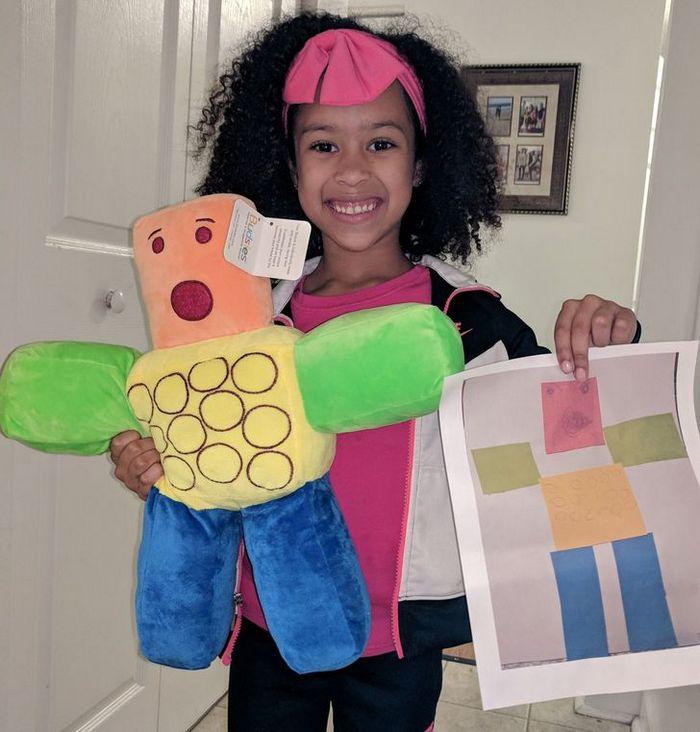 16 brinquedos criando a partir de desenhos feitos por crianças 8