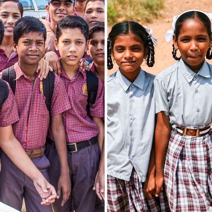 Como são os uniformes escolares em alguns países 5