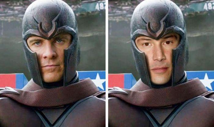 Como seriam os 12 super-heróis se fossem interpretados por Keanu Reeves 9