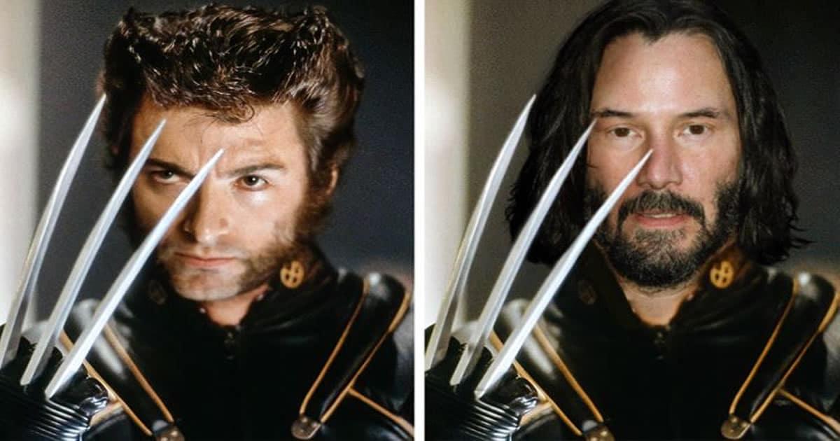 Como seriam os 12 super-heróis se fossem interpretados por Keanu Reeves 22