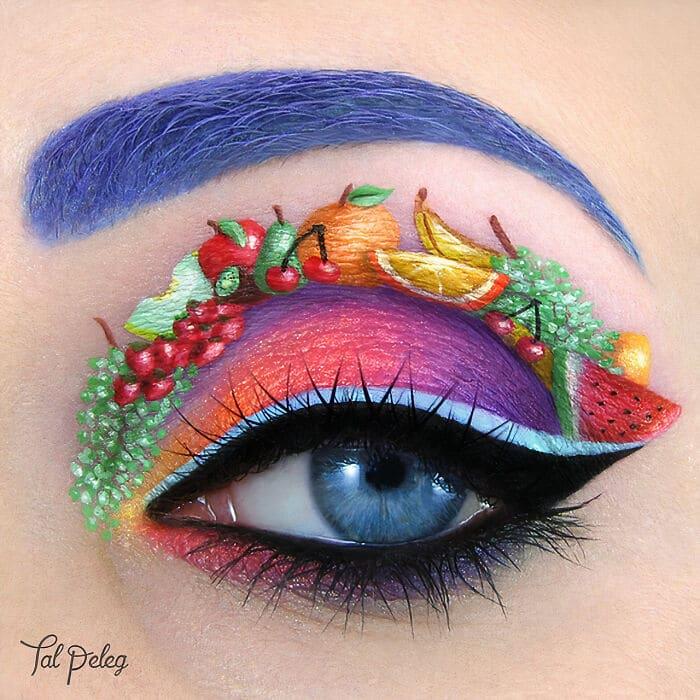 Esta artista cria cenas mágicas em suas pálpebras usando maquiagem 13