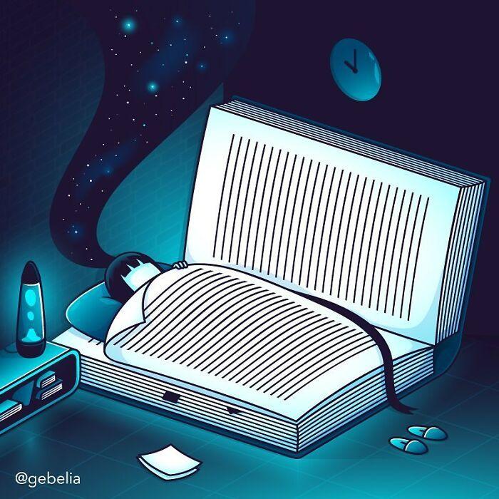 27 ilustrações instigantes de Elia Colombo 2