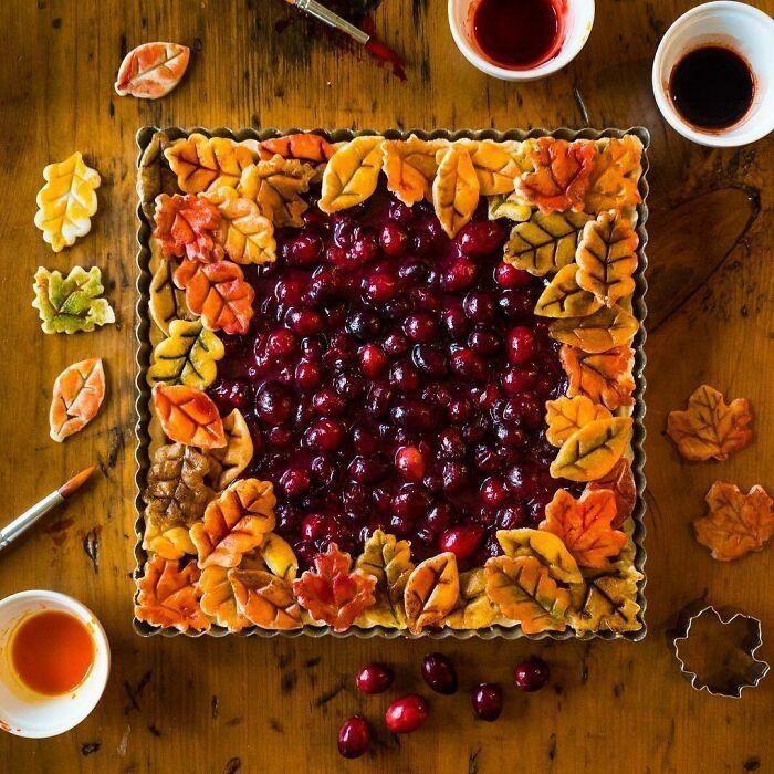 Mulher faz tortas lindas que roubariam a cena em todas as mesas 3