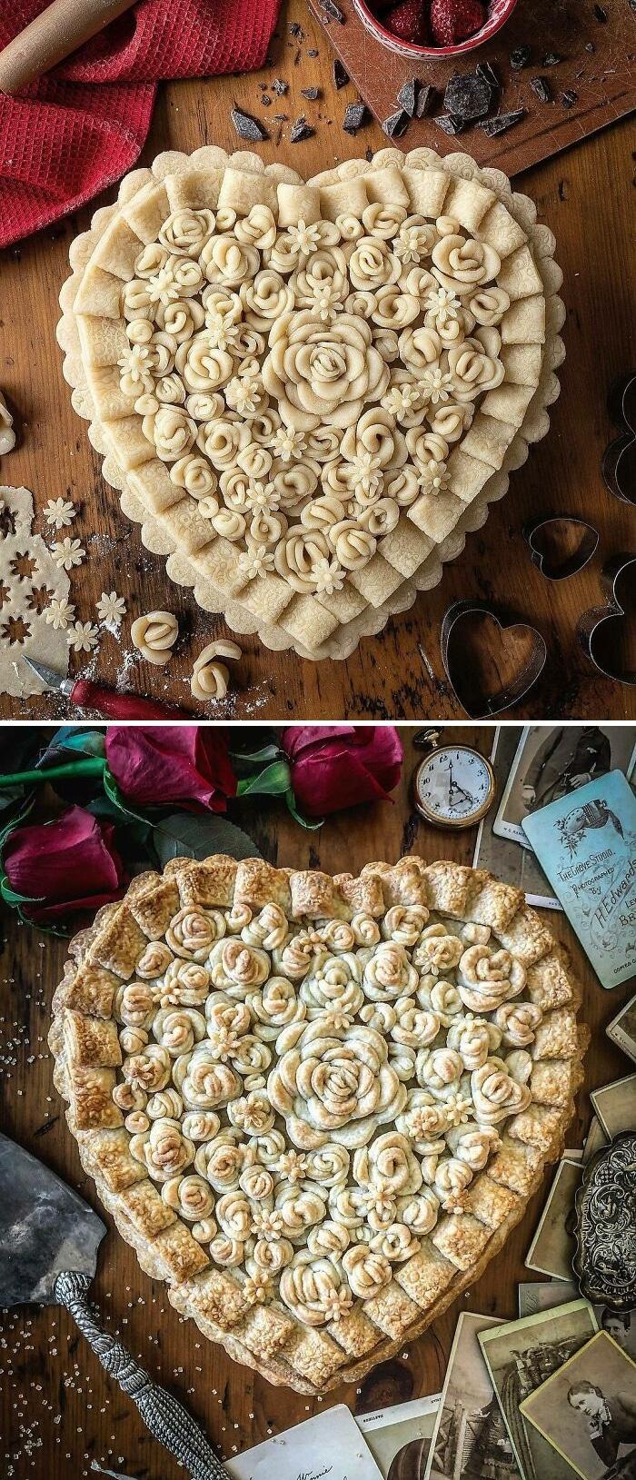 Mulher faz tortas lindas que roubariam a cena em todas as mesas 22