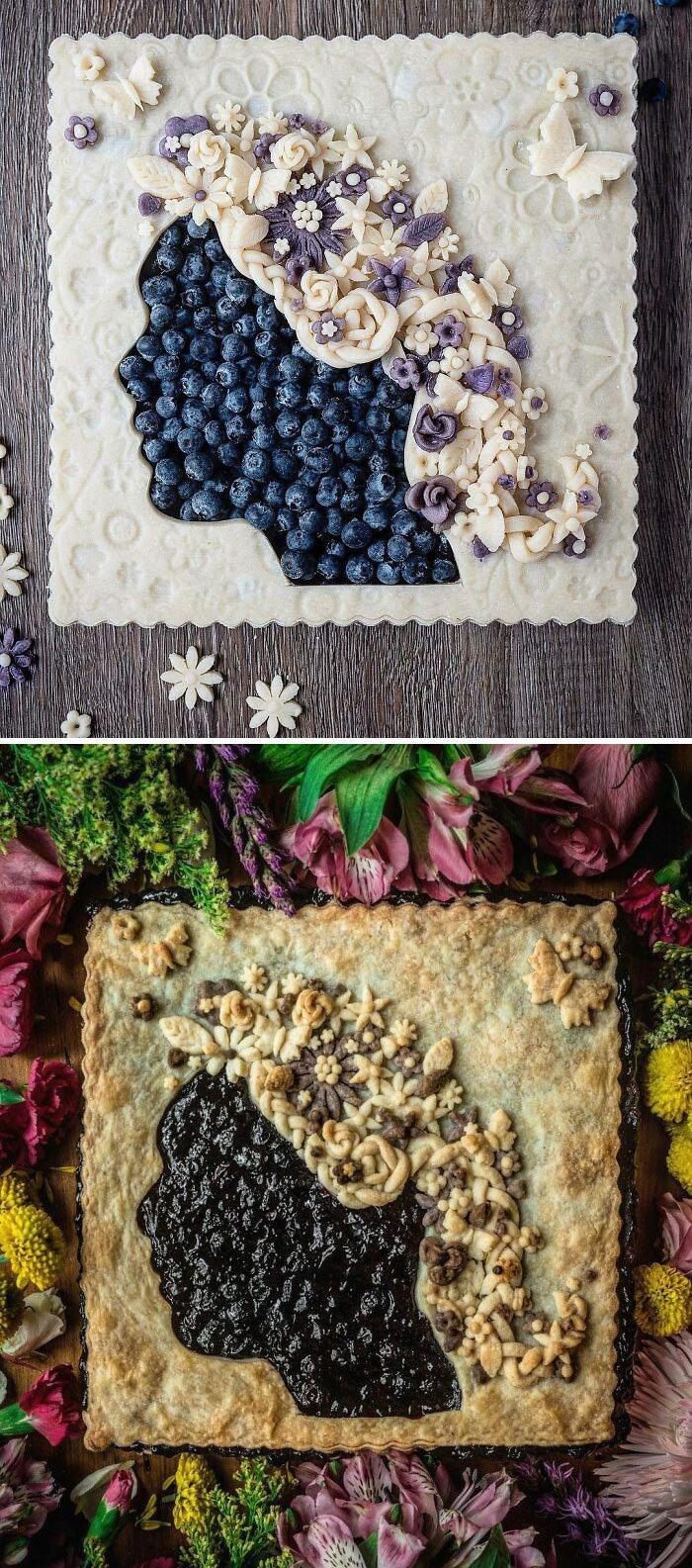 Mulher faz tortas lindas que roubariam a cena em todas as mesas 24
