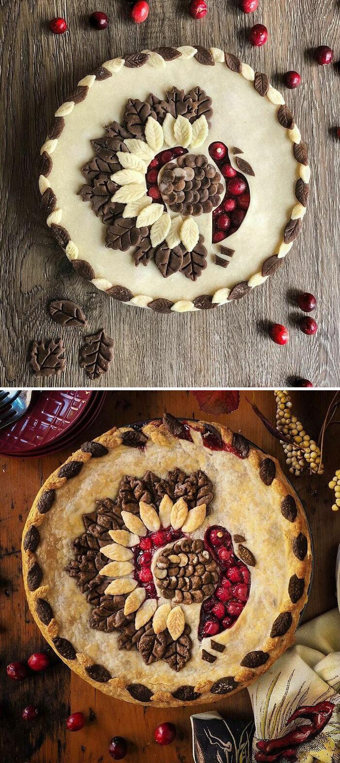 Mulher faz tortas lindas que roubariam a cena em todas as mesas 29