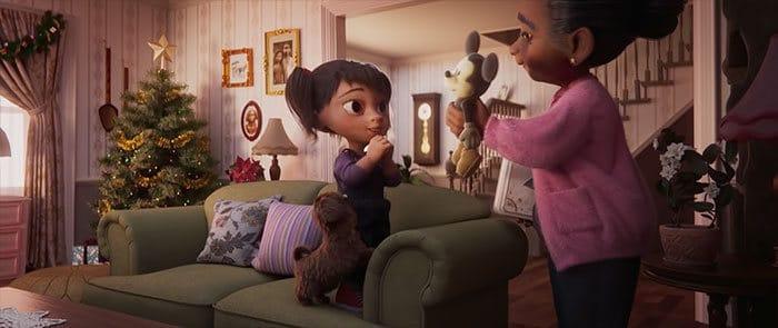 O mais novo anúncio de Natal da Disney está atingindo as pessoas na hora 4