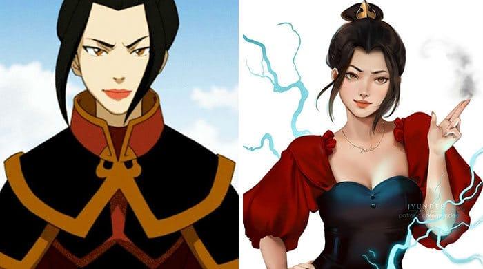 Personagens famosos recriados por uma artista coreana em seu próprio estilo 24