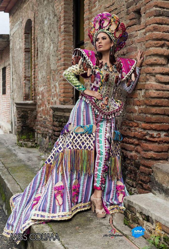 20 trajes tradicionais do Miss México 2020 que nos deixaram de boca aberta 6