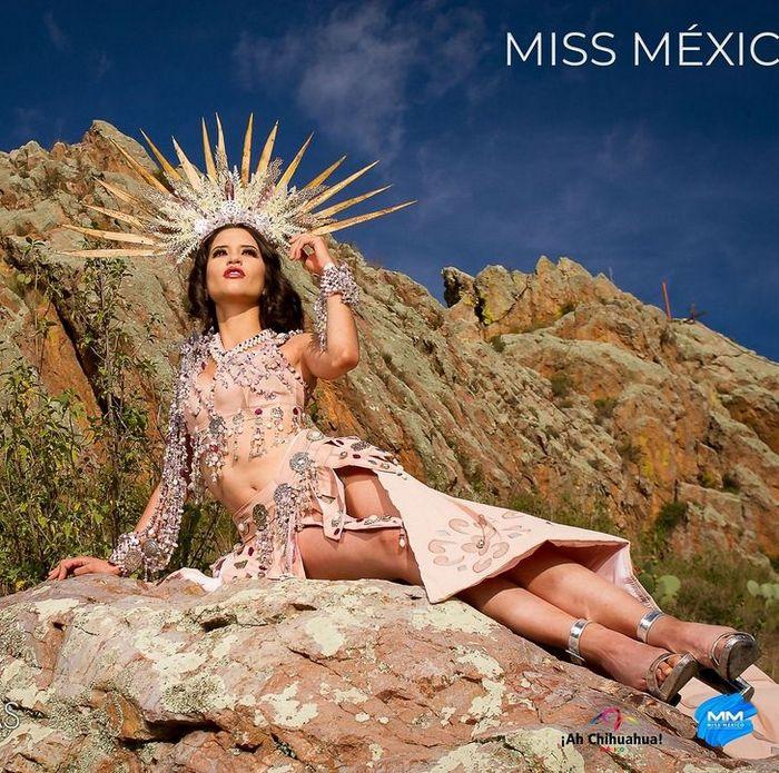 20 trajes tradicionais do Miss México 2020 que nos deixaram de boca aberta 7