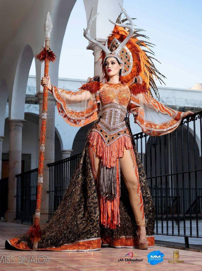20 trajes tradicionais do Miss México 2020 que nos deixaram de boca aberta 8