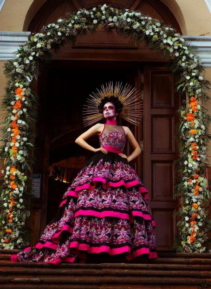 20 trajes tradicionais do Miss México 2020 que nos deixaram de boca aberta 9