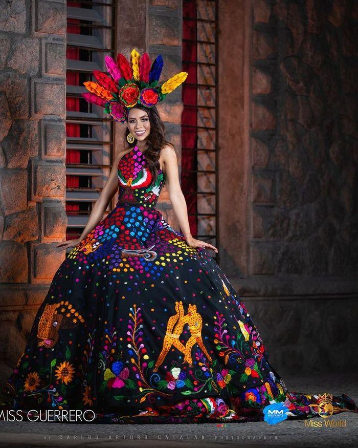 20 trajes tradicionais do Miss México 2020 que nos deixaram de boca aberta 10
