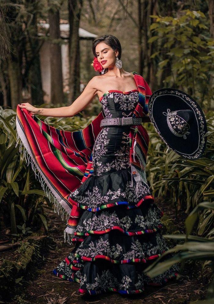 20 trajes tradicionais do Miss México 2020 que nos deixaram de boca aberta 13