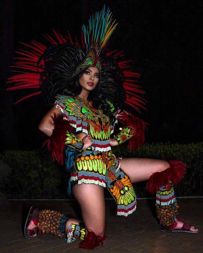 20 trajes tradicionais do Miss México 2020 que nos deixaram de boca aberta 19