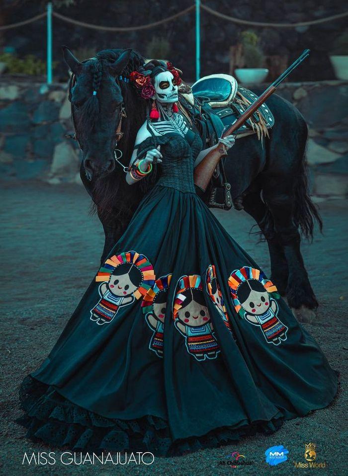 20 trajes tradicionais do Miss México 2020 que nos deixaram de boca aberta 20