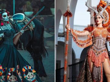 20 trajes tradicionais do Miss México 2020 que nos deixaram de boca aberta 45