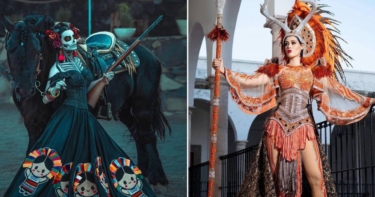 20 trajes tradicionais do Miss México 2020 que nos deixaram de boca aberta 4