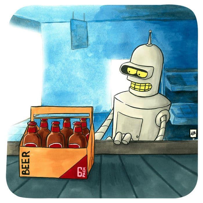 Aqui está o que personagens famosos comprariam no supermercado 6