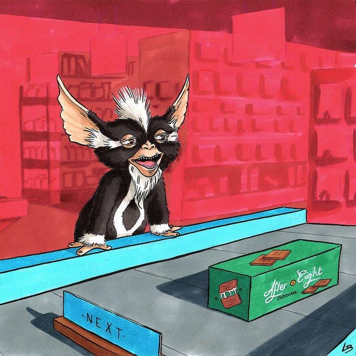 Aqui está o que personagens famosos comprariam no supermercado 14