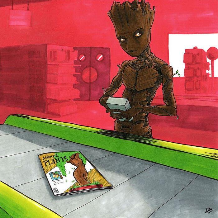 Aqui está o que personagens famosos comprariam no supermercado 15