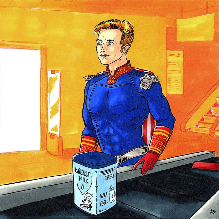 Aqui está o que personagens famosos comprariam no supermercado 16