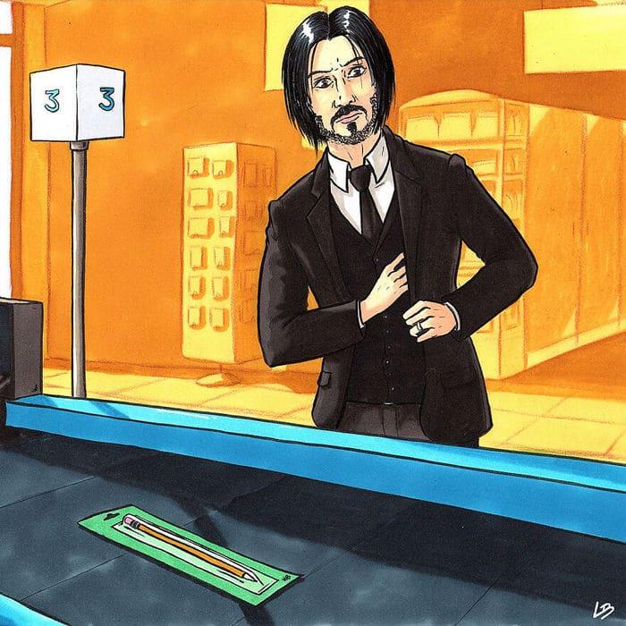 Aqui está o que personagens famosos comprariam no supermercado 19