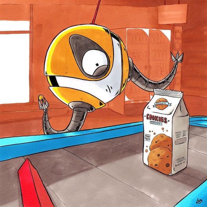 Aqui está o que personagens famosos comprariam no supermercado 20