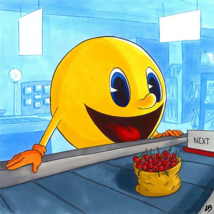 Aqui está o que personagens famosos comprariam no supermercado 21