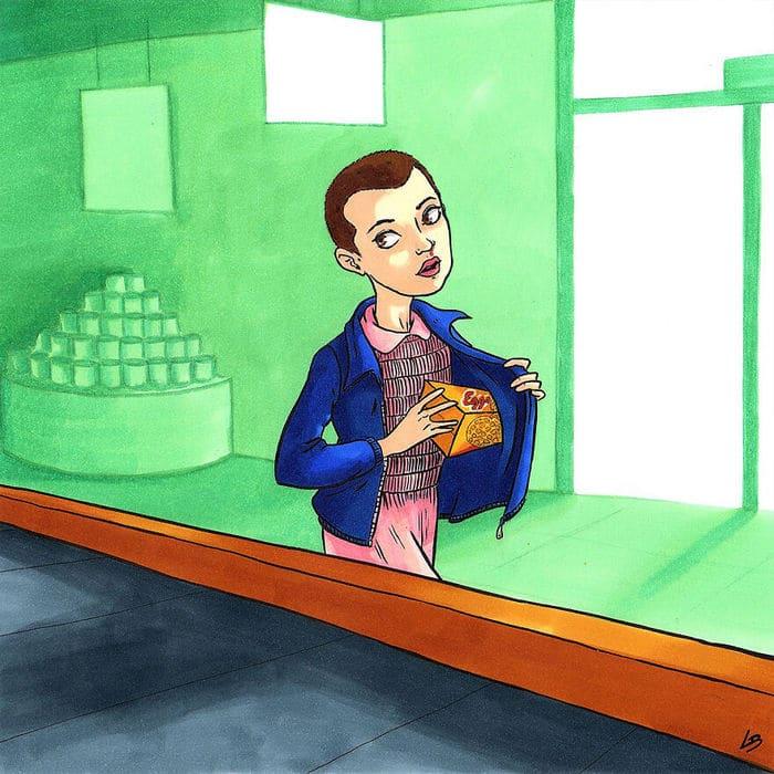 Aqui está o que personagens famosos comprariam no supermercado 28
