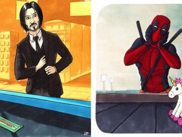 Aqui está o que personagens famosos comprariam no supermercado 26