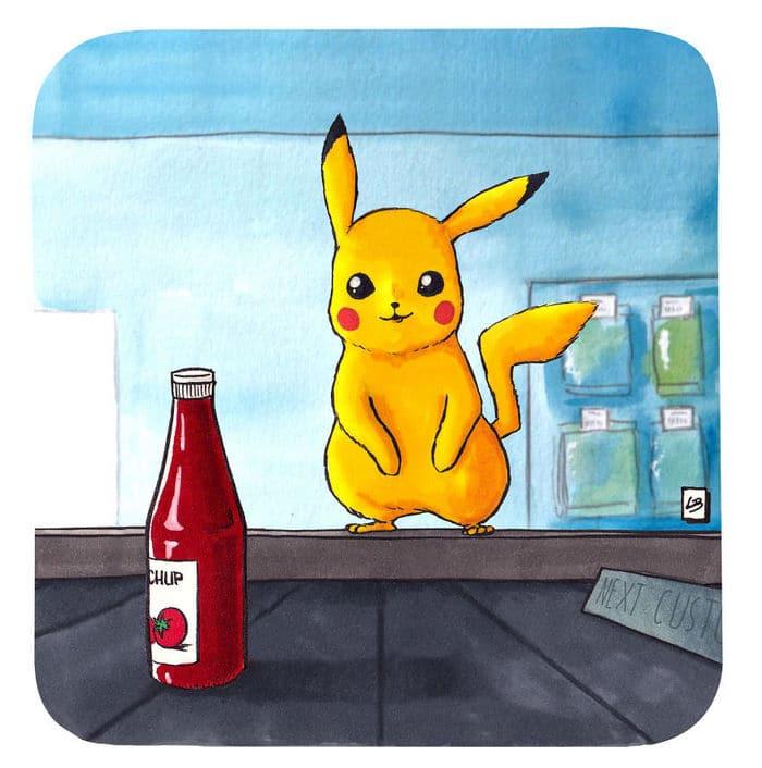 Aqui está o que personagens famosos comprariam no supermercado 43